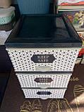 Комод пластиковый элиф keep safe  на 3 ящика, фото 2