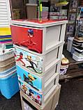 Комод на 4 ящика с декором Леди Баг с рисунком на крышке Алеана, фото 3
