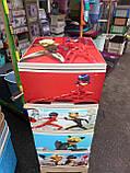 Комод на 4 ящика с декором Леди Баг с рисунком на крышке Алеана, фото 4