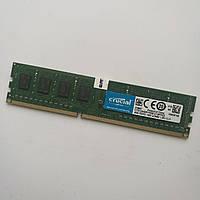 Оперативная память Crucial DDR3L 4Gb 1600MHz PC3L-12800 2R8 CL11 (CT51264BD160B.C16FPD2) Б/У, фото 1
