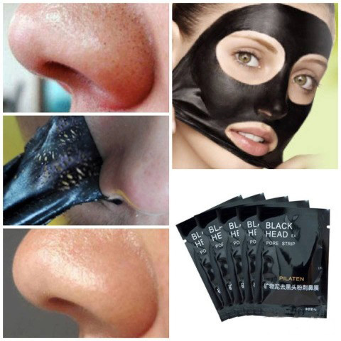 Черная маска от черных точек (Black Mask) | Черная маска Блэк Маск от точек