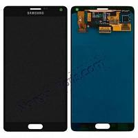 LCD Дисплей+сенсор  Samsung  N910H Galaxy Note 4 серый оригинал 100%