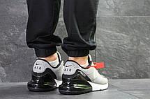 Мужские кроссовки Nike Air Max 270,серые с черным, фото 2