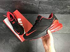 Мужские кроссовки Nike Air Max 270,черные с красным, фото 3