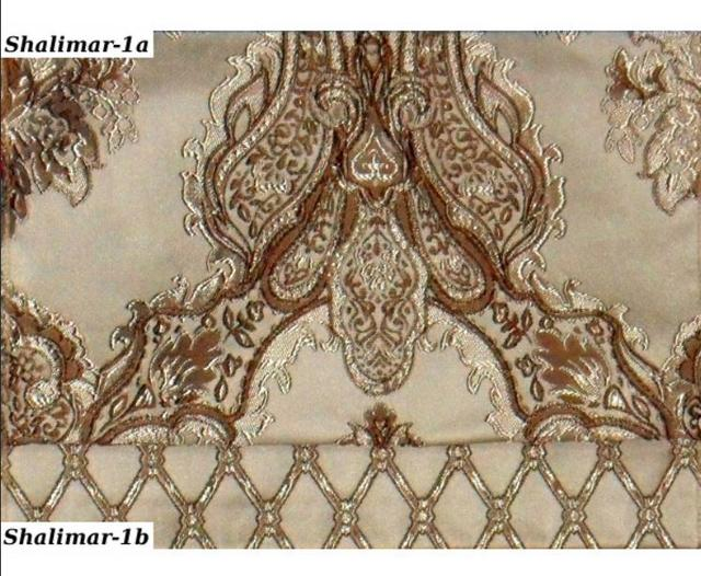 Ткань Shalimar-1a комбинация с Ткань Shalimar-1b