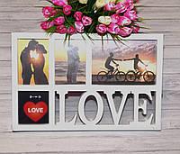 Рамка коллаж Love
