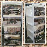 """Комод на 4 ящика с декором """"авто 5""""  Алеана, фото 2"""