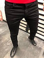 мужские джинсы черные качественные прямые