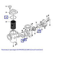 Kripsol Резиновые прокладки KA RPUM3116.08R (полный комплект)