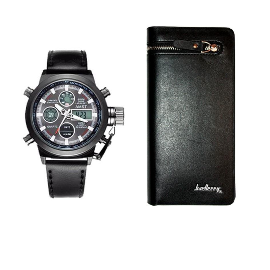 Наручные часы AMST+ Портмоне в подарок
