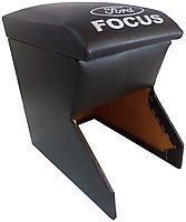Подлокотник Ford Focus 2002-2008 черный с логотипом