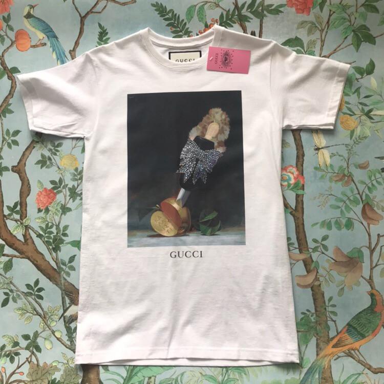 Gucci. Белая футболка Gucci • Женские и мужские футбы.