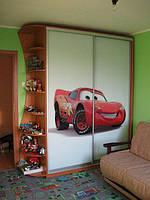 Шкафы - купе с фото печатью для детской комнаты