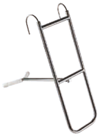 Нержавеющая носовая лестница с убирающимся упором
