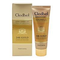 Золотая маска для лица Cledbel Ultra Lift 24k Gold, фото 1