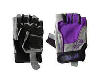 Перчатки женские Womens Gloves GL - 150C Gray/violet  размер XS