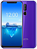 "OUKITEL C12 Pro purple 2/16 Gb, 6.18"", MT6739, 3G, 4G"