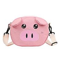 Кроссбоди свинка розовая GS805
