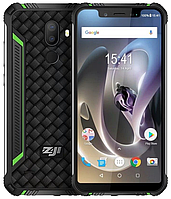"Homtom ZOJI Z33 green IP68, 3/32 Gb, 5.85"", MT6739, 3G, 4G, фото 1"