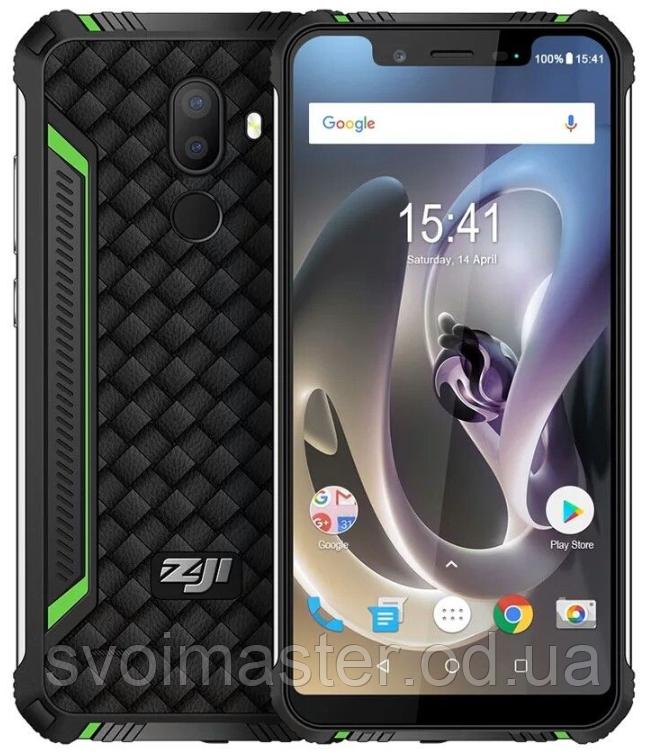 "Homtom ZOJI Z33 green IP68, 3/32 Gb, 5.85"", MT6739, 3G, 4G, фото 1"