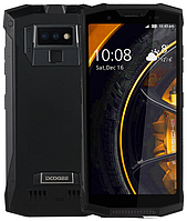 "Doogee S80 black IP68 6/64 Gb, 5.99"" Helio P23, 3G, 4G, РАЦИЯ, фото 1"