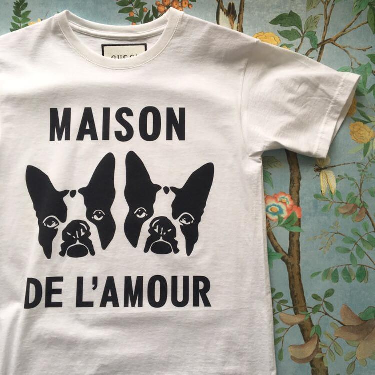 Gucci Maison. Белая футболка Gucci. Мужская футболка,  люксовая