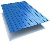 Профнастил RAL5002 Синій,ПС-10, 0,95*1,2м.
