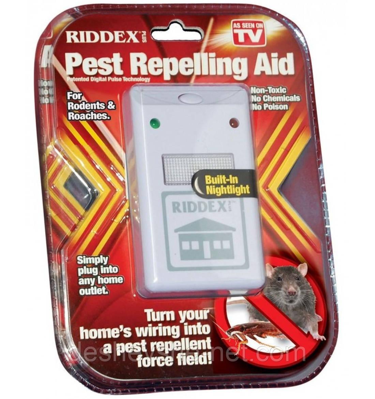 Универсальный электронный отпугиватель вредителей Ридекс Плюс Riddex Plus Pest Repeller