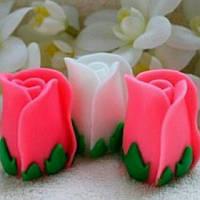 Сувенирное мыло 《Бутон розы》 58*40 мм