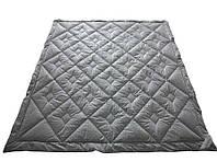 Одеяло пуховое 160х215 70% пуха стеганое IGLEN
