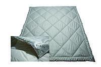 Одеяло летнее IGLEN 220х240 с наполнителем 100% шерсть в тике