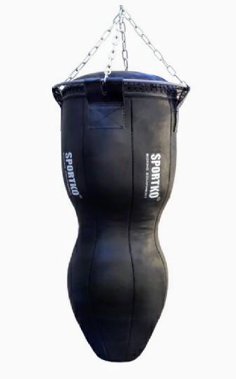 Боксерский мешок СИЛУЭТ ПВХ МСП - 110 с цепями. Высота 110см.Диаметр 45см. Вес 50кг.
