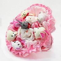 Букет из игрушек Зоопарк с рафаэлло 5308