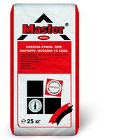 """Клеющая смесь белого цвета для камня, мрамора, мозаики и стекла """"Мaster-Kristal"""", 25 кг"""