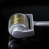 Мезороллер SKR 1мм, в пластиковом футляре 540игл, фото 9