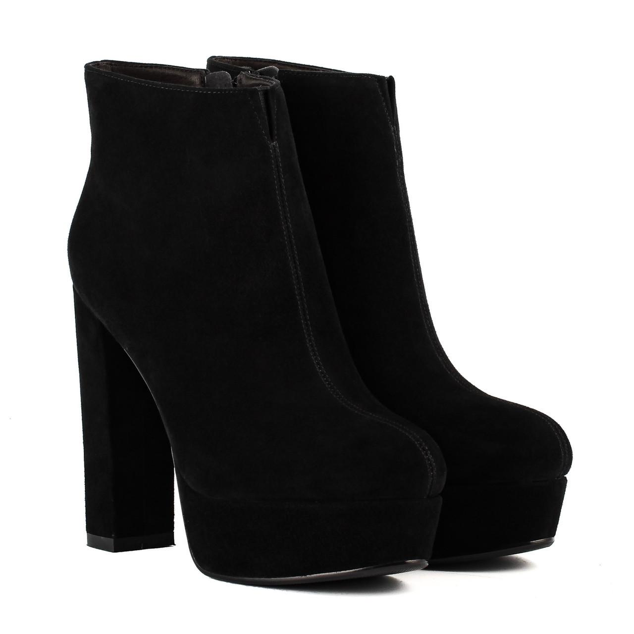 cfb232985ad6 Ботильоны женские Angelo Vani (стильные, изысканные, замшевые, на высоком  каблуке)