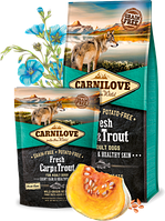 Корм Carnilove Fresh Carp & Trout for Adult Dogs