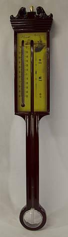 Термометр и индикатор погоды бытовой, штормгласс, Storm glass, (26631), фото 2