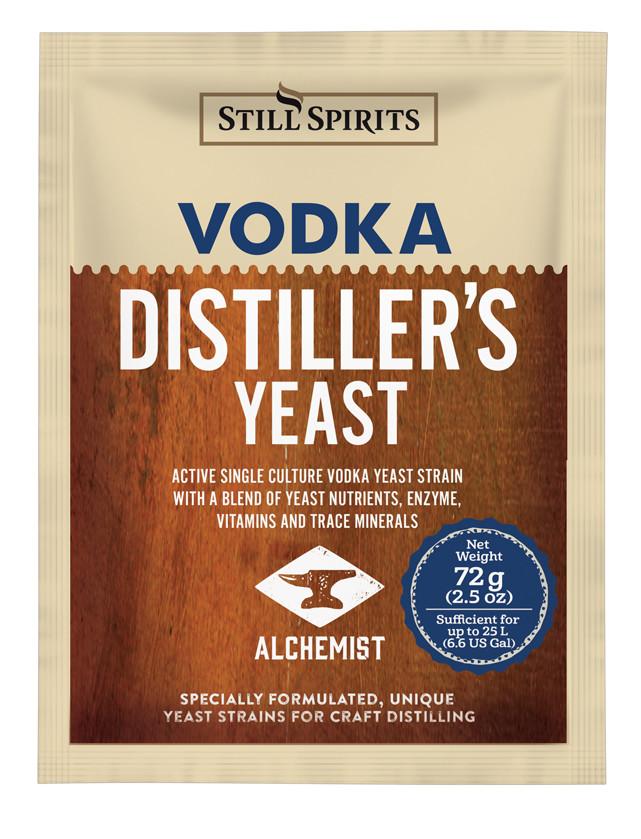 Спиртовые дрожжи для водки Still Spirits Distiller's Yeast Vodka with AG 72g
