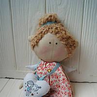 Маленький ангел Валентинка в красном платье, фото 1