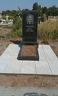 Памятник из гранита на одного (простой) Буки