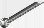 Шплинт разводной, стальной (ЦБ) ГОСТ 397-79, DIN 94