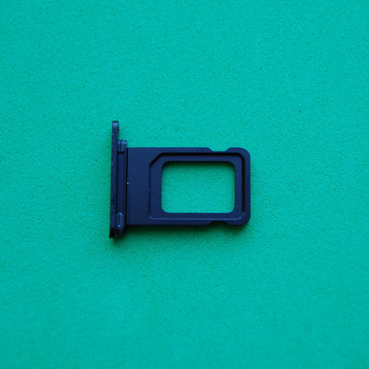 Держатель sim-карты для Apple iPhone XR Black