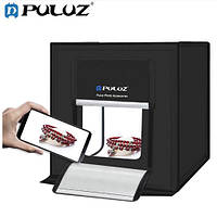 Лайтбокс PULUZ PU5040 з подвійним LED підсвічуванням і 6шт. фонами