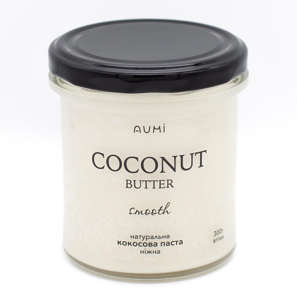 Кокосовая паста нежная, 300 г, стекло, 100% кокос, без добавок, кокосовая манна
