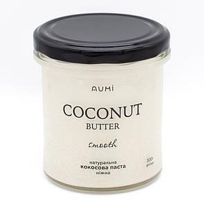 Кокосовая паста, 300 г, стекло, 100% кокос, без добавок, нежная кокосовая манна