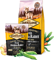 Корм Carnilove Fresh Chicken & Rabbit for Adult Dogs