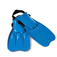 Детские Ласты для плавания INTEX 55932 (р-р 41-45) поливинил/син. IKD /36-6