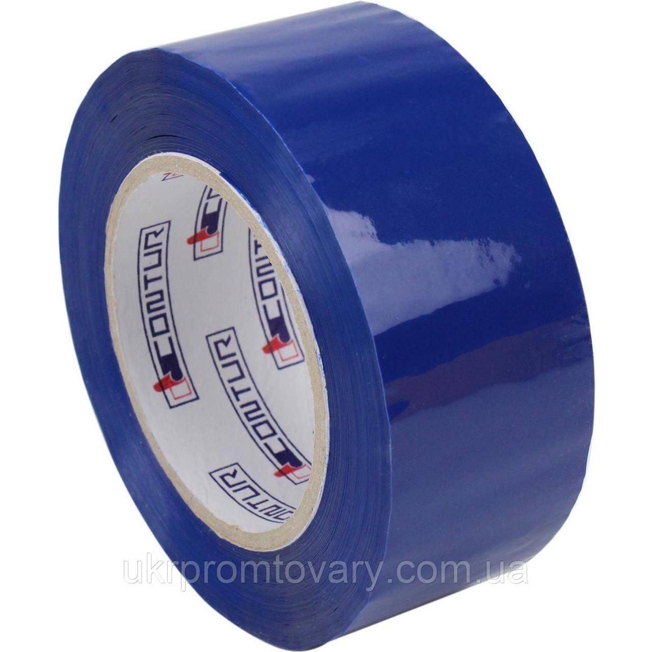 "Скотч ""Contur"" синий (200 м.), от производителя, опт розница"