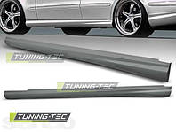 накладки на пороги Mercedes E W211 стиль AMG
